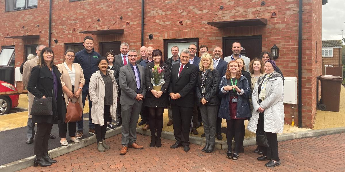 New council homes unveiled as Welwyn Hatfield celebrates 100 years of social housing