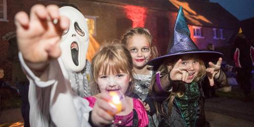 An image relating to Halloween activities in Welwyn Hatfield
