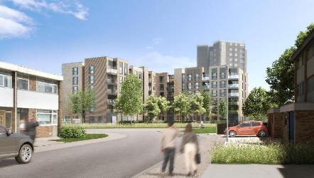 An image relating to Link Drive redevelopment approved