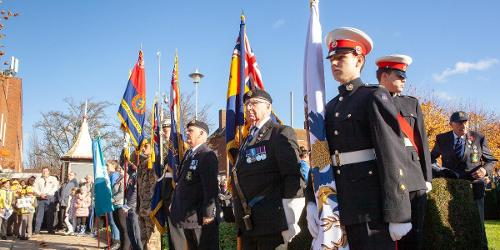 An image relating to Remembrance Sunday services in Welwyn Hatfield