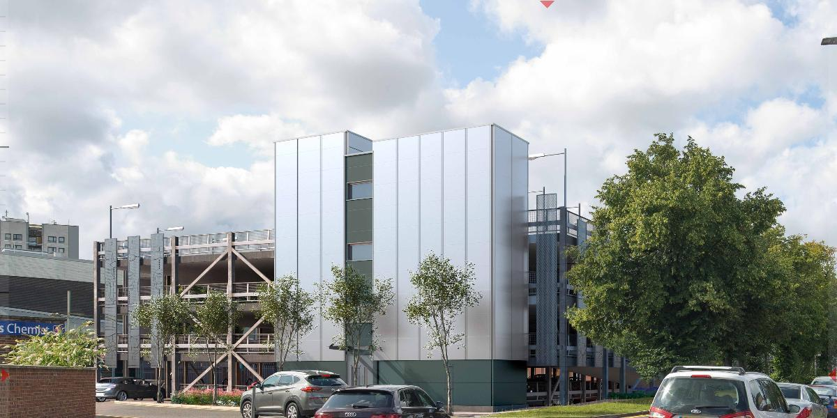 Plans released for new town centre multi-storey