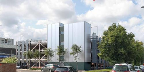 An image relating to Plans released for new town centre multi-storey