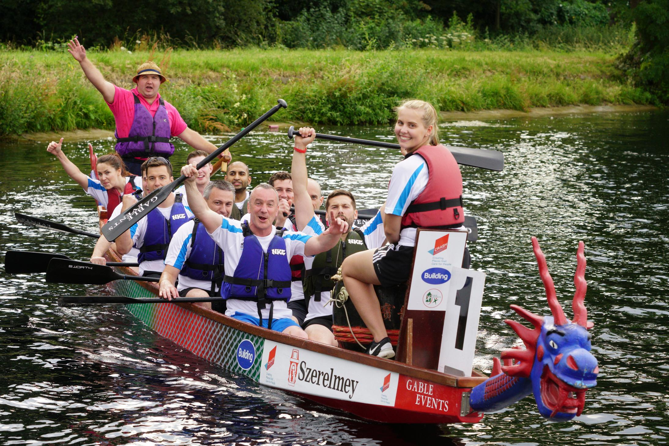 Dragon Boat Racing comes to Stanborough for WGC centenary