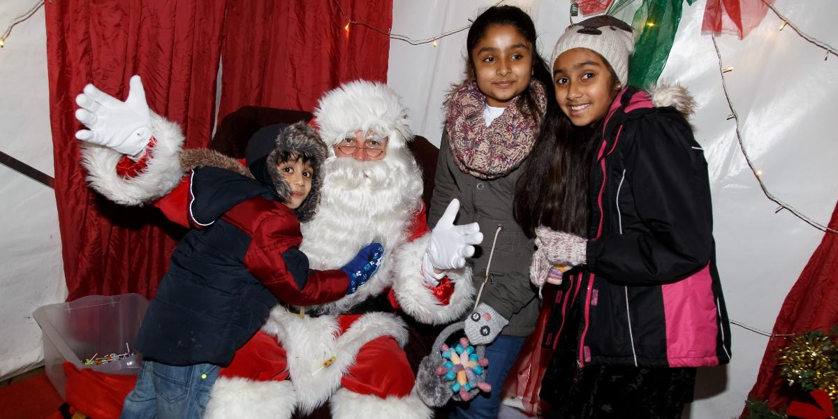 Santa Claus is coming to (Hatfield) town