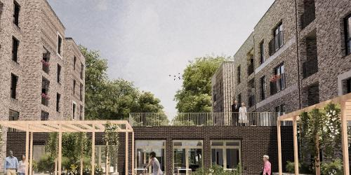 An image relating to Planning application for 90 new homes approved