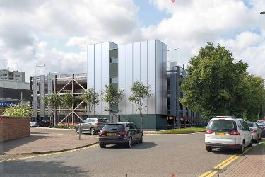 An image relating to  New proposals retain three-hour free parking for Hatfield