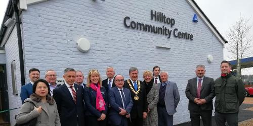 An image relating to New community centre opens its doors