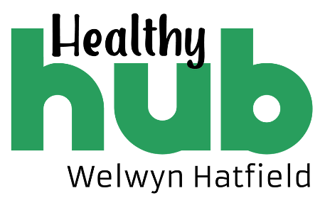 Logo of the Welwyn Hatfield Healthy Hub