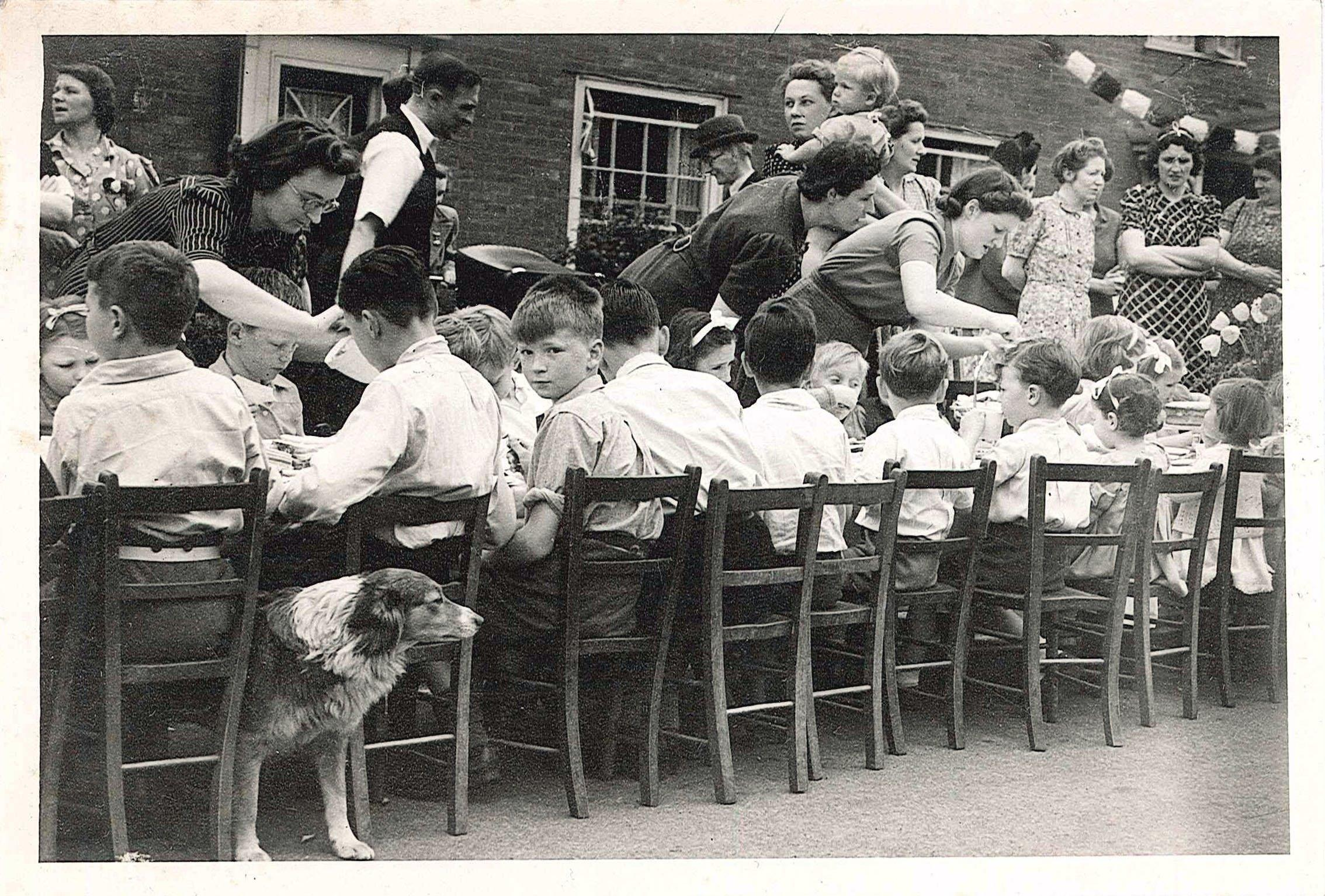 VE Day Street parties courtesy of Mill Green Museum