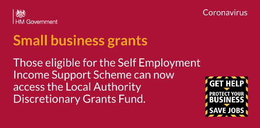 An image relating to Business grants for priority small businesses