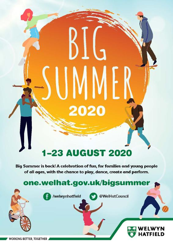 The poster for Big Summer 2020