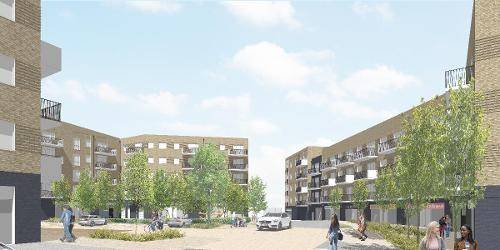 An image relating to Work set to start on High View regeneration