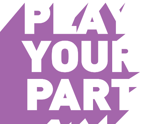 Logo for Play Your Part Campaign