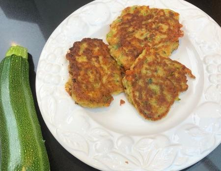 Liz Paffley's Summer Courgette Fritters