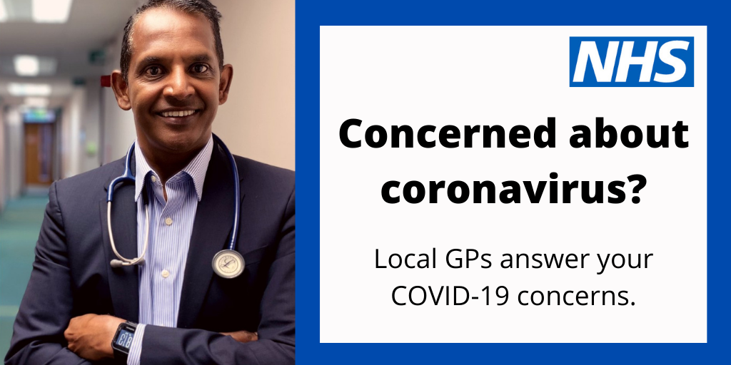 Concerned about coronavirus?