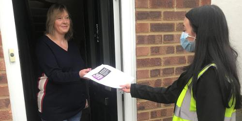 An image relating to Home visits to help Herts' self-isolators