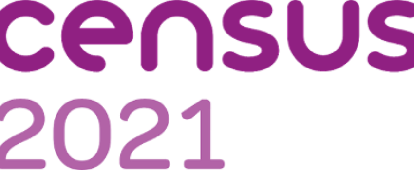 Logo for the 2021 census