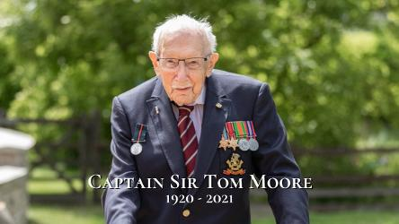 An image relating to In memory of Captain Sir Tom Moore