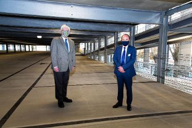 An image relating to  New multi-storey car park unlocks further regeneration opportunities in Hatfield