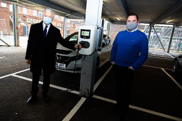 An image relating to Hatfield leads the charge on council's EV roll out