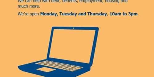 An image relating to Virtual drop-in service launched by Welwyn Hatfield Citizens Advice Bureau