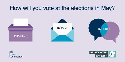 An image relating to Deadline to register for a postal or proxy vote approaching