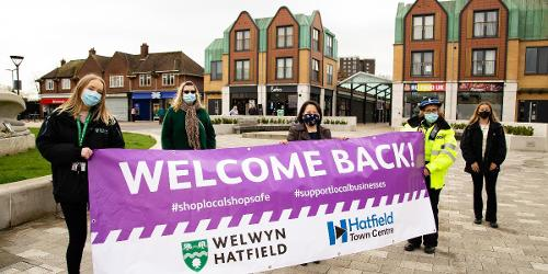 An image relating to A warm welcome awaits in Hatfield and WGC