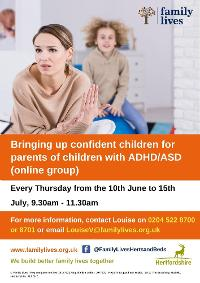 Image for Bringing Up Confident Children for Parents of Children with ADHD/Autism