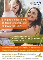 Image representing Free Online Parenting Group for Parents and/or Carers of Children with Special Educational Needs who live in Herts or attend school in Herts