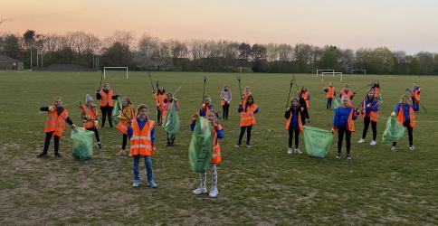 An image relating to Litter-picking the way to a better environment - and better health!