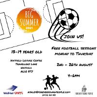 Image for Forever Young People Football Session (13-19 yrs)