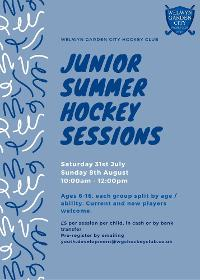 Image for Junior Summer Hockey Sessions