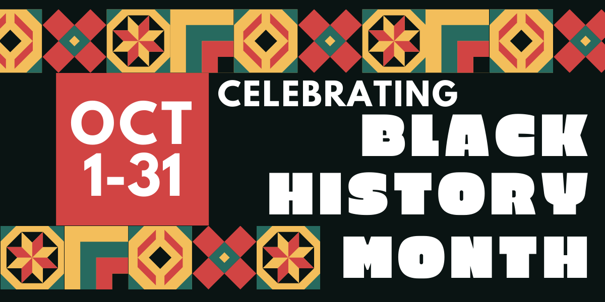 Black History Month 2021 - Proud To Be...