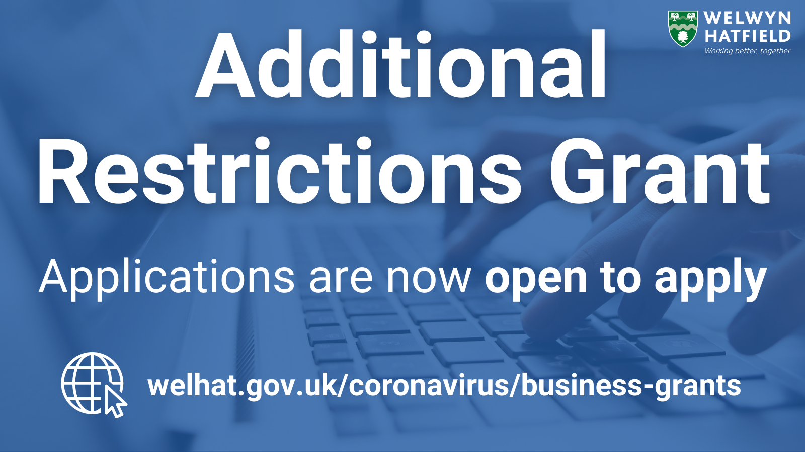 Additional Restrictions Grant scheme reopens