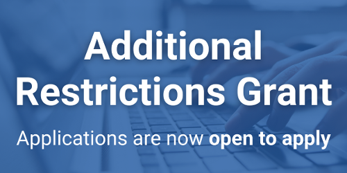 An image relating to Additional Restrictions Grant scheme reopens