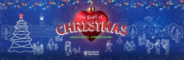 An image relating to Welwyn Hatfield - welcome to The Heart of Christmas