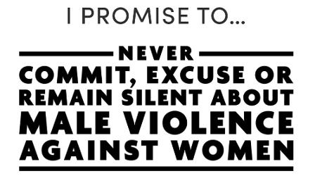 An image relating to White Ribbon pledge to end violence against women