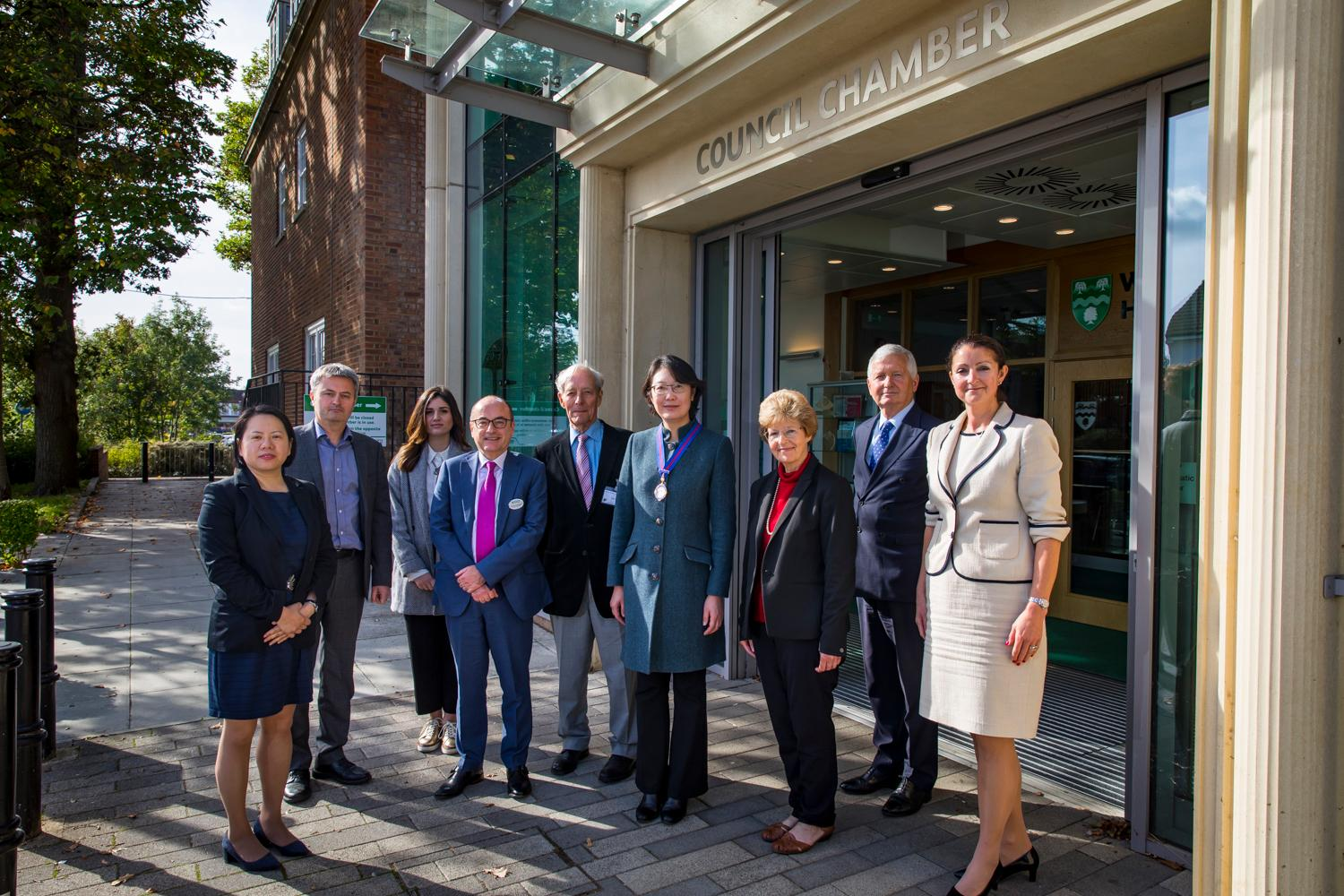 RTPI celebrates 'foundation of town planning' with centenary trip to Welwyn Garden City