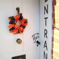 Image for Paper Plate Halloween Wreaths
