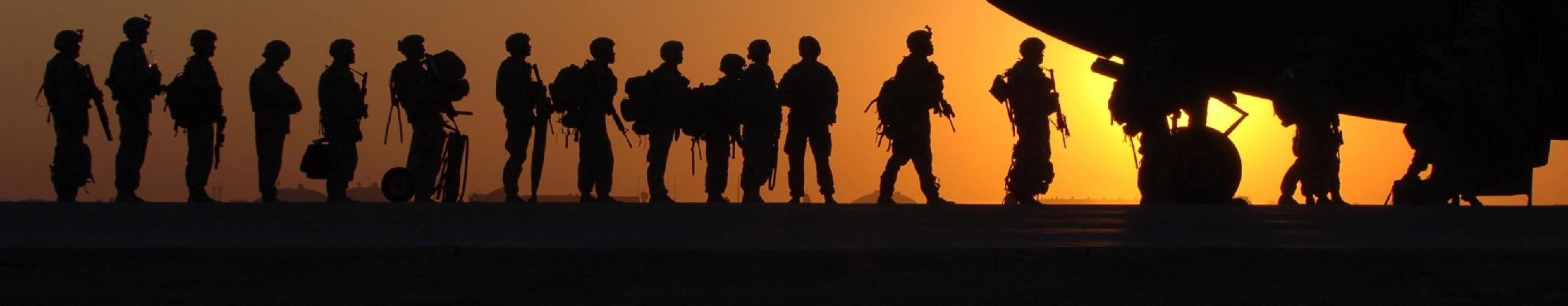 Picture of soldiers.