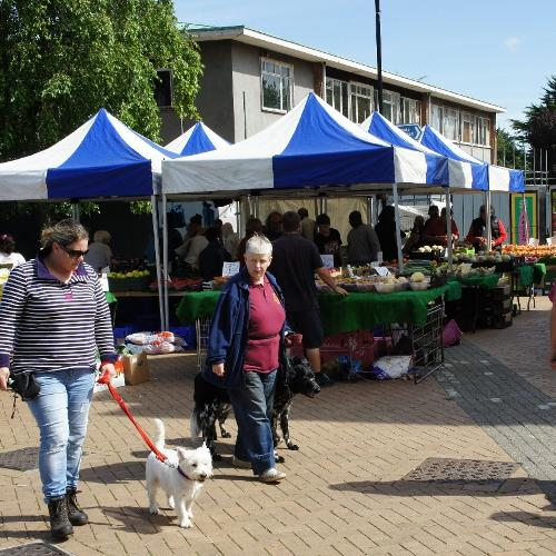 Hatfield Town Centre general market