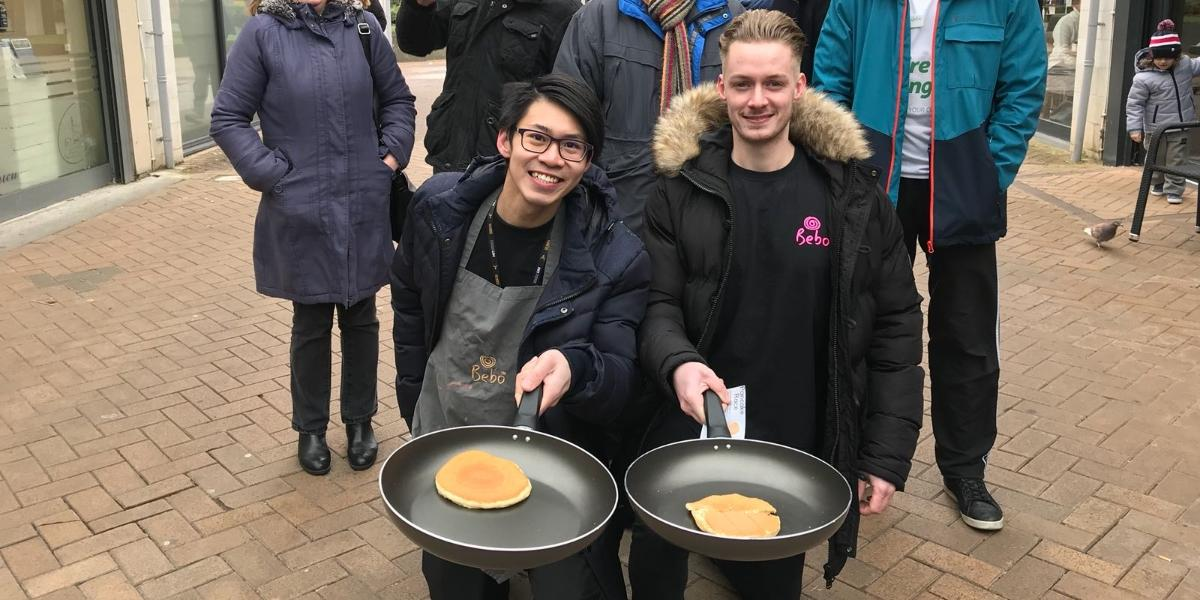 Pancake Day race returns to Hatfield town centre