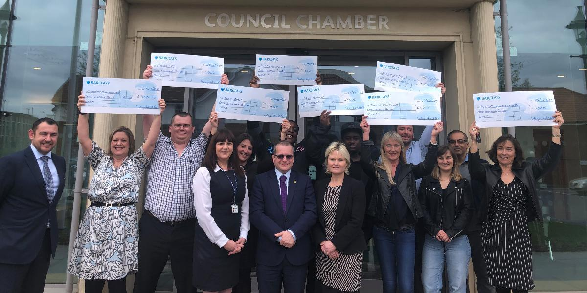 Big boost for local businesses