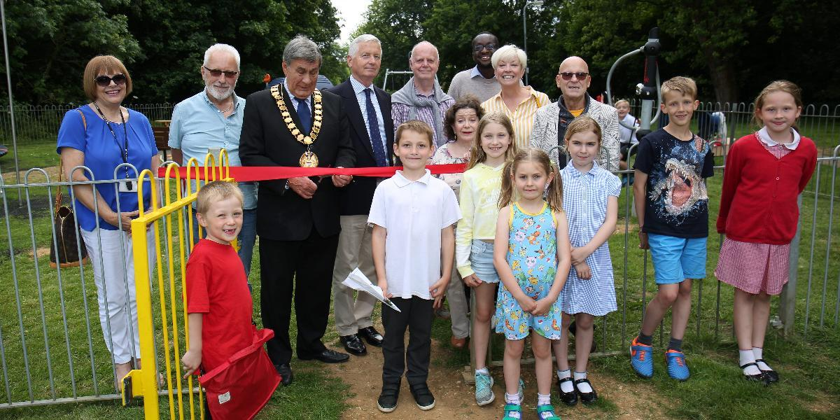 New play area at Haldens officially opened