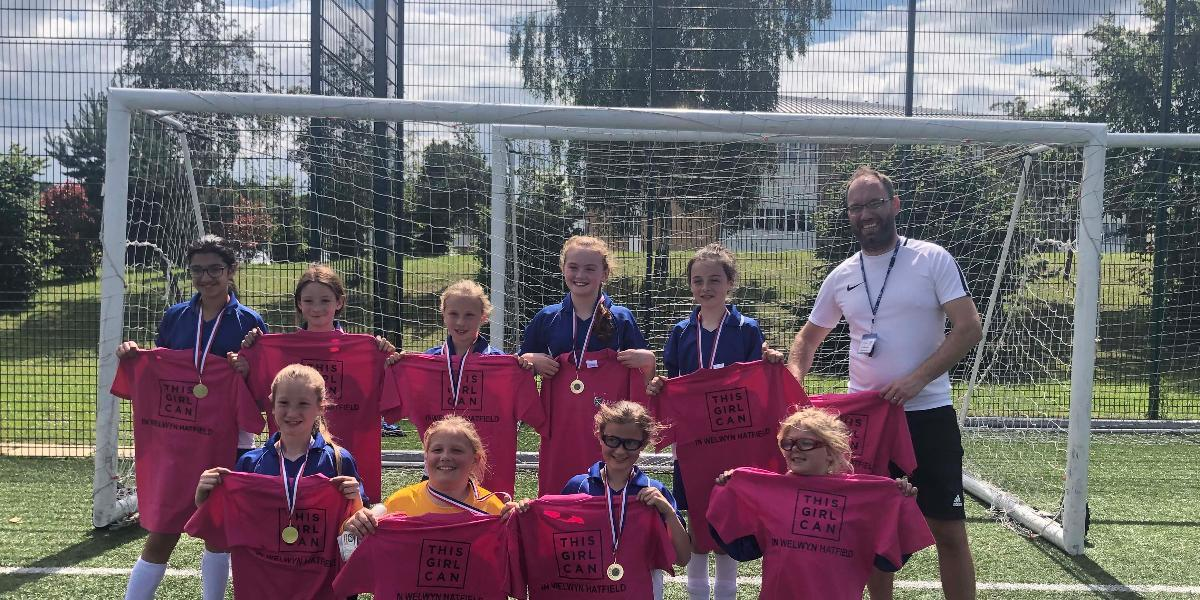This Girl Can football tournament winners