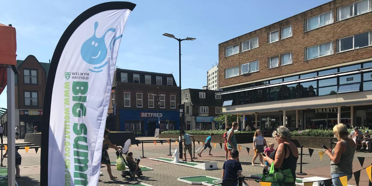 Come and 'Have a Go' in Hatfield town centre